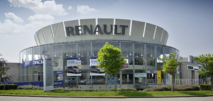 La concession dacia plaine for Garage renault furnes belgique